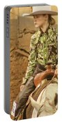 Cowgirl Portable Battery Charger