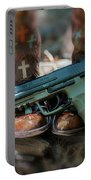 Cowgirl Shabby Chic Portable Battery Charger
