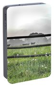 Cows In Field Portable Battery Charger