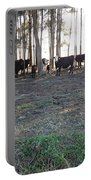 Cows In The Woods Portable Battery Charger