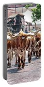 Cowtown Stockyards Portable Battery Charger