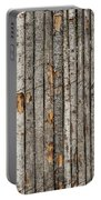 Coyote Fence Santa Fe New Mexico Portable Battery Charger