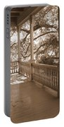 Cozy Southern Porch Portable Battery Charger by Carol Groenen