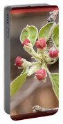 Crab Apple Buds Portable Battery Charger