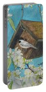 Crabapple Chickadees Portable Battery Charger