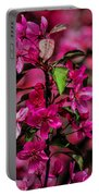 Crabapple Tree Blossoms Portable Battery Charger