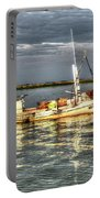 Crabbing Boat Scotty Boy - Smith Island, Maryland Portable Battery Charger