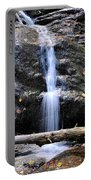 Crabtree Falls In Fall Portable Battery Charger