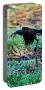 Grackle In The Morning  Portable Battery Charger