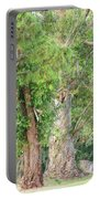 Craggy Tree For Will Portable Battery Charger