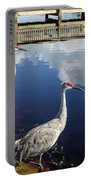 Cranes At The Lake Portable Battery Charger