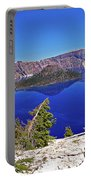 Crater Lake And Wizard Island Portable Battery Charger