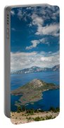 Crater Lake From Watchman Overlook Portable Battery Charger