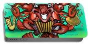 Crawfish Band Portable Battery Charger