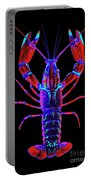 Crawfish In The Dark-  Redblue Portable Battery Charger