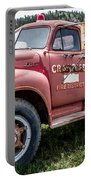 Crawford Fire Truck  Portable Battery Charger