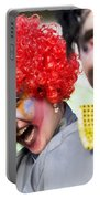 Crazy Circus Clowns Portable Battery Charger