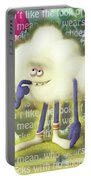 Crazy Cloud Guy. Portable Battery Charger
