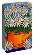 Crazy For Daisies Portable Battery Charger