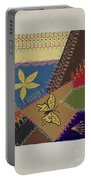 Crazy Quilt (section) Portable Battery Charger