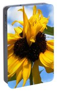 Crazy Sunflower Look Portable Battery Charger