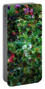 Crazyquilt Garden Portable Battery Charger