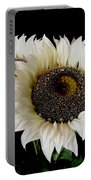 Creamy Sunflowers Portable Battery Charger