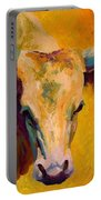 Creamy Texan - Longhorn Portable Battery Charger