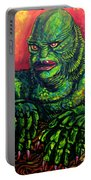 Creature Black Lagoon Portable Battery Charger