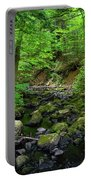 Creek Crossing In Ma Portable Battery Charger