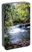 Creek, Frozen In Time Portable Battery Charger