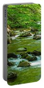 Creek In Great Smoky Mountains National Portable Battery Charger