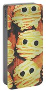 Creepy And Kooky Mummified Cookies  Portable Battery Charger