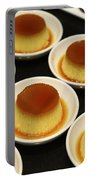 Creme Caramel Dessert Portable Battery Charger