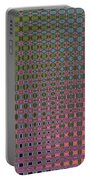 Crepe Myrtle Abstract Portable Battery Charger