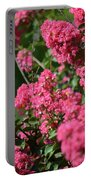 Crepe Myrtle Blossoms 2 Portable Battery Charger