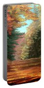 Cressman's Woods Portable Battery Charger by Hanne Lore Koehler
