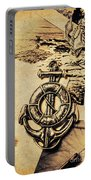 Crest Of Oceanic Adventure Portable Battery Charger