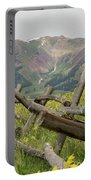Crested Butte Color Portable Battery Charger