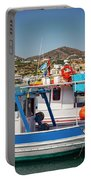 Crete Fishing Boats Portable Battery Charger