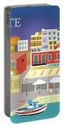 Crete Greece Horizontal Scene Portable Battery Charger