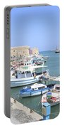 Crete Island Harbour  Portable Battery Charger