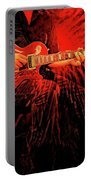 Crimson Guitar Portable Battery Charger