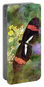 Crimson Longwing Butterfly 8231 Idp_2 Portable Battery Charger