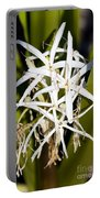 Crinum Spiderlily Flower Portable Battery Charger