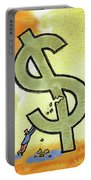 Crisis And Money Portable Battery Charger