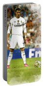 Cristiano Ronaldo Reacts Portable Battery Charger