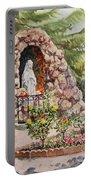 Crockett California Saint Rose Of Lima Church Grotto Portable Battery Charger