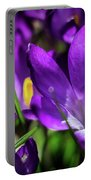Crocus Amongst Us Portable Battery Charger