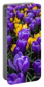 Crocuses 4 Portable Battery Charger